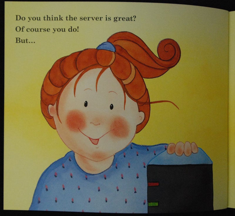 Microsoft's Brainwashing Children's Book: Mommy, Where Do Servers Come From?