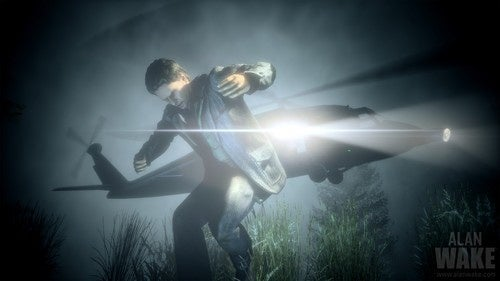 Alan Wake on the Run, in the Dark