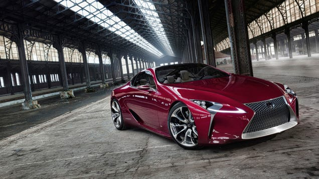 This Report On Lexus 600HP Coupe Is Everything Wrong With Car Names