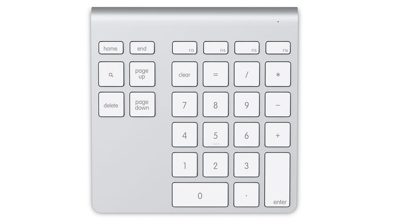 A Matching Numerical Keypad For Your Wireless Apple Keyboard