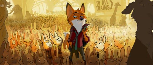 Disney's Zootopia Could Bring Back Your FurryRobin HoodFantasies