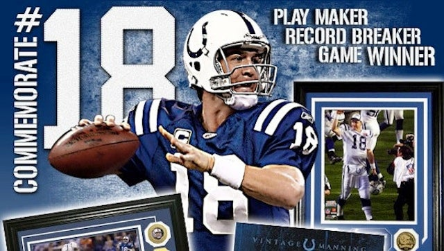 Colts Apologize For Email Offering Commemorative Peyton Manning Merchandise Just After Yesterday's Announcement