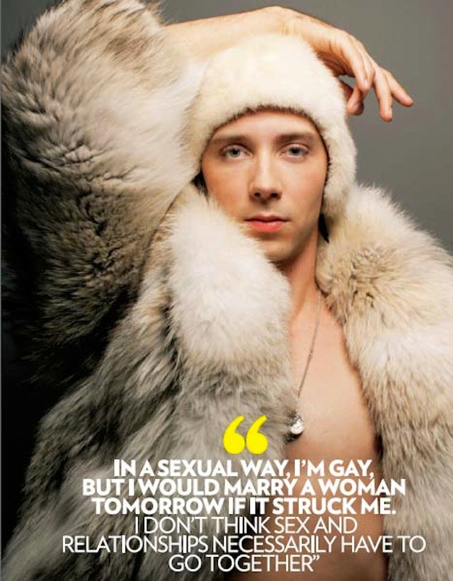 Shocking Bombshell: Johnny Weir Is Gay