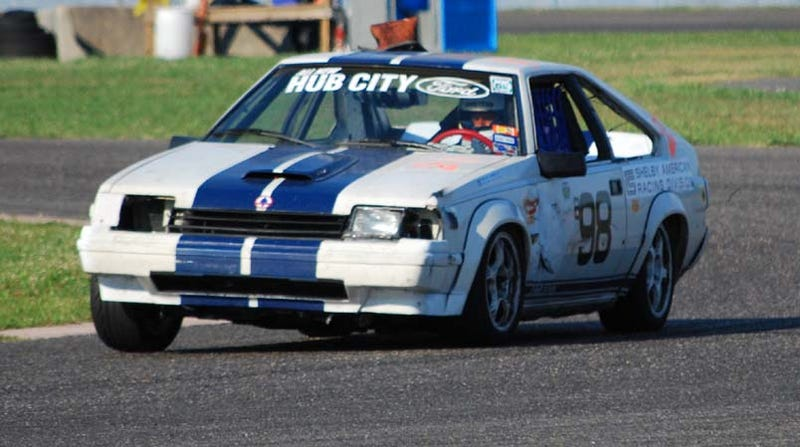 GT$500 Celica Takes The New Orleans LeMons Checkered Flag, Honda Wagovan One Lap Behind!