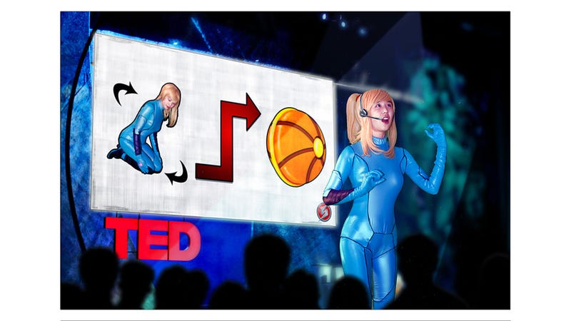 Metroid Cosplay Based On Nerdy Metroid Cartoon