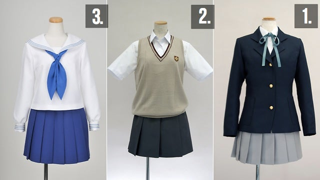 Japan's Biggest Selling Cosplay Costumes of 2011 Were...