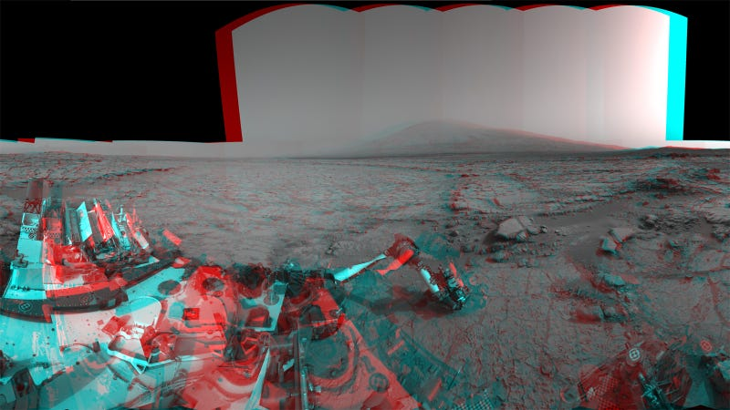 Watch The Martian Landscape In Stereo