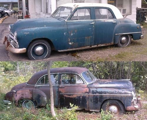 Wisconsin Rust Trip: 1950 Chevrolet, 1951 Plymouth