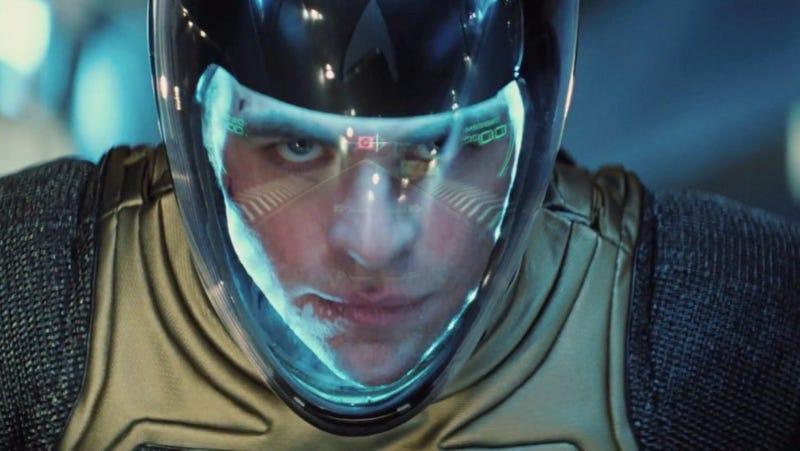 We've seen the first dynamic clip of Benedict Cumberbatch in Star Trek