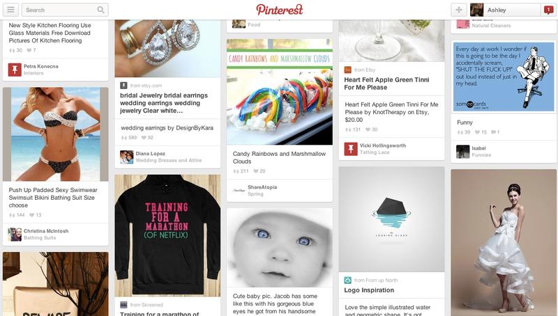 Pinterest: Great for Weddings, Recipes, Restraining Order Violations