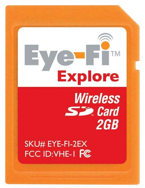 Eye-Fi Announces Explore, Share and Home Models