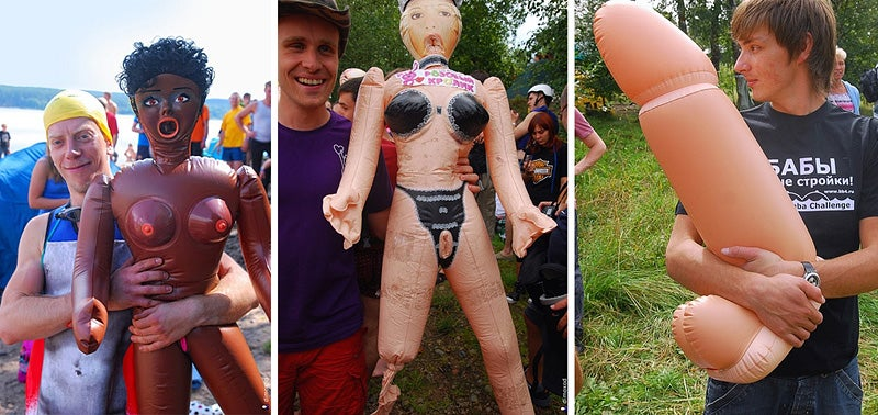 Meanwhile, In Russia, A Sex-Doll River Race