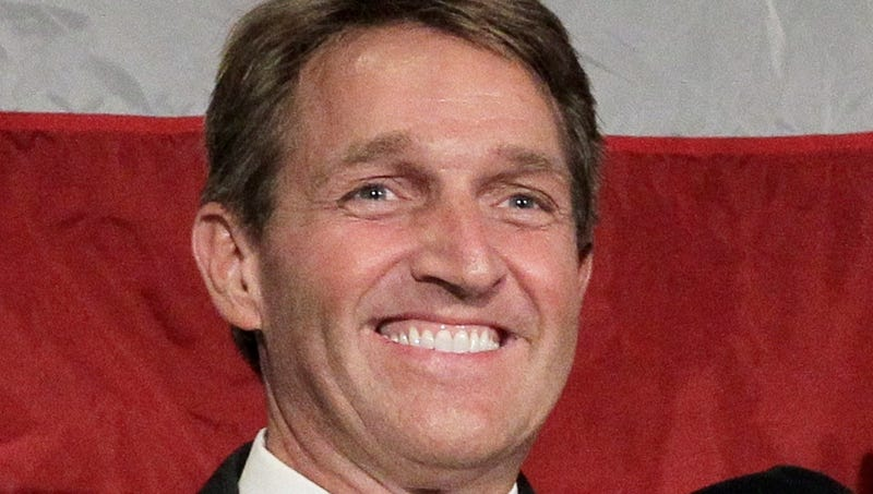 Sen. Flake Promises Gun Control Reform to Aurora Victim's Mom, Flakes