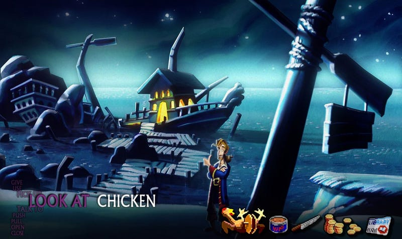 If Only Monkey Island 2: Special Edition Looked This Good