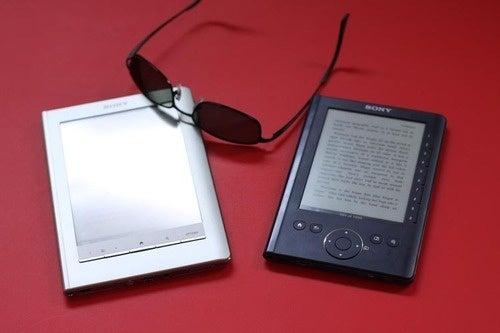 Sony Reader Touch - Glare