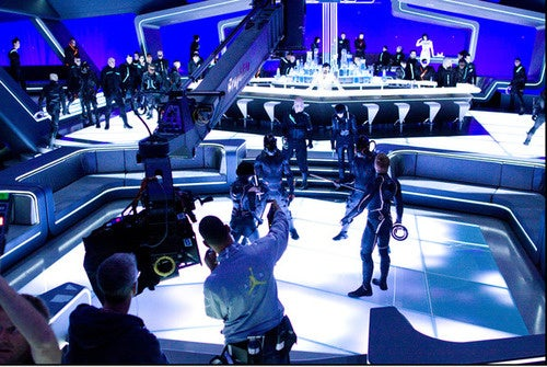 Tron Director's Architectural History Evident In Production Shots