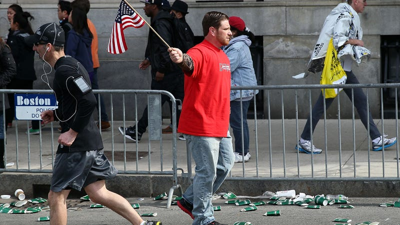 Photos From The Boston Marathon Bombing