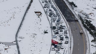 What Should You Do If Your Car Gets Stuck In A Brutal Storm?