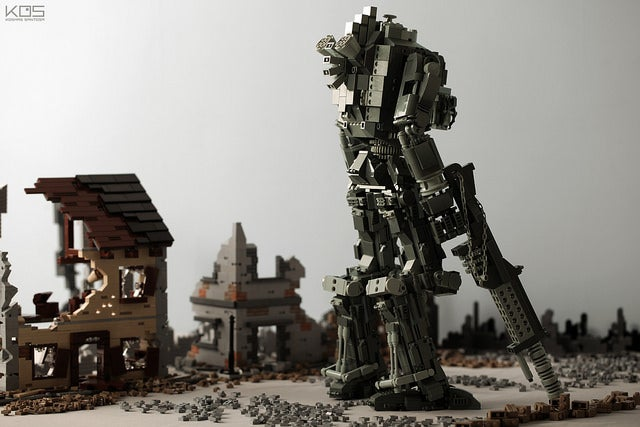 World War II-Themed Titanfall Lego Diorama