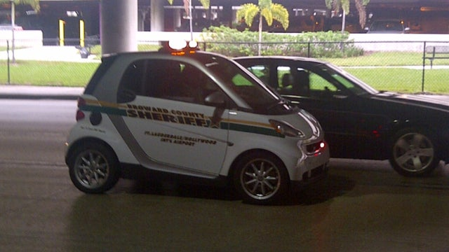 Florida Police Department Using Smart Car Unironically