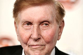 Sumner Redstone Can't Stop Putting Party Girls on the Company Payroll
