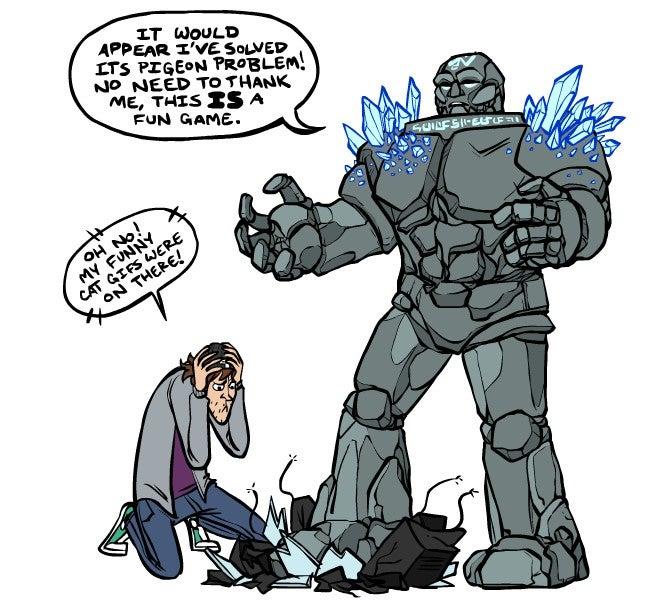 Sunday Comics: Oddman Out