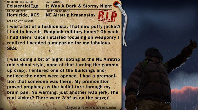 DayZ Survivor Stories (more betterer...)