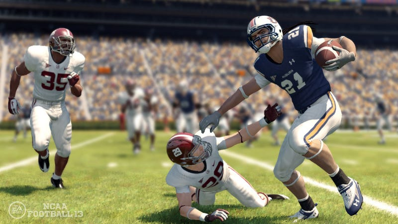 Get Real Coaches and Players (and Accurate Dreadlocks) in NCAA Football 13