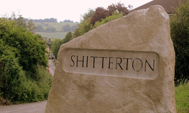 Shitterton Beat Out Crapstone to Win 'Most Unfortunate Place Name' in Britain