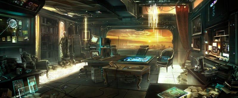 Get Some New Furniture, Deus Ex