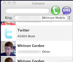 Voice Mac is an Integrated Google Voice Client