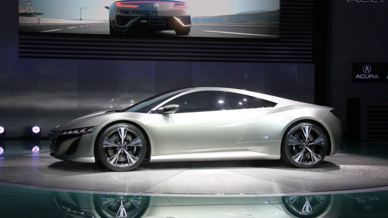 Acura NSX Concept: 2012 Detroit Auto Show Live Photos