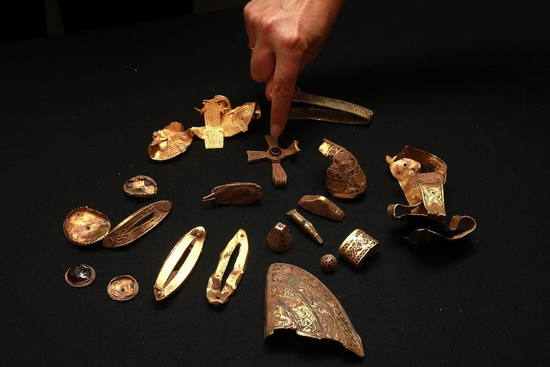 How did these long lost treasures get rediscovered?