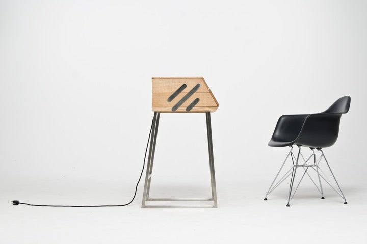 Who Knew an Oversized Sewing Box Could Make Such an Awesome Desk?