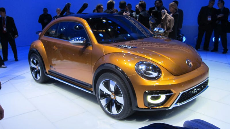 The Beetle Dune Concept Looks Fun But That's About It