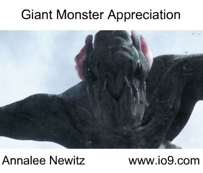 A 5-Minute Crash-Course in Giant Monsters