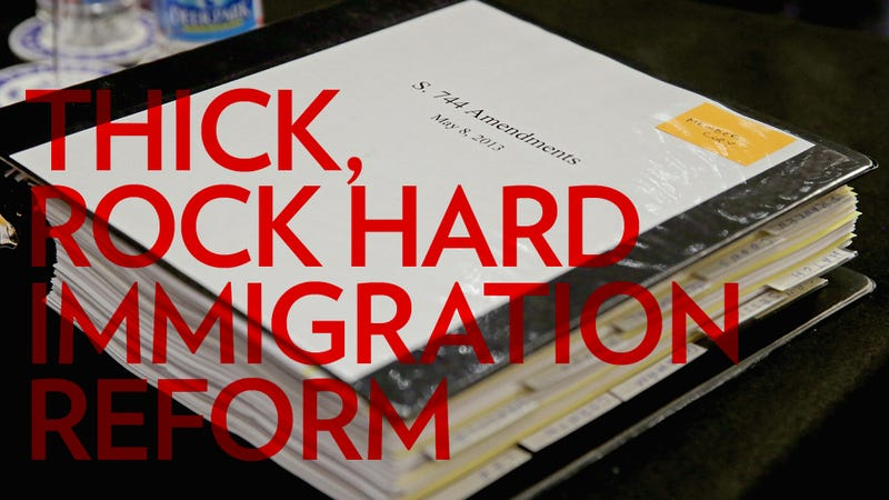 The Lady's Guide to the Big, Throbbing Immigration Reform Bill