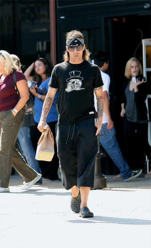 Anthony Kiedis: Bret Michaels Up Top, Soccer Mom Down Below