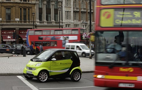 Electric Smart Fortwo Undergoing Real-World Tests In London