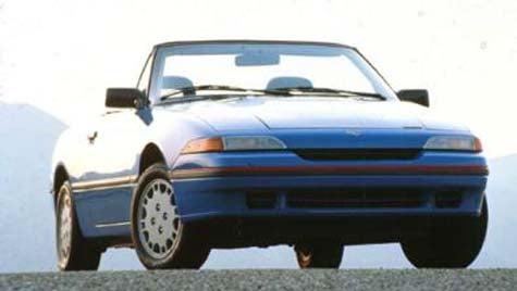 Forgotten Mercury of the Day: 1993 Mercury Capri