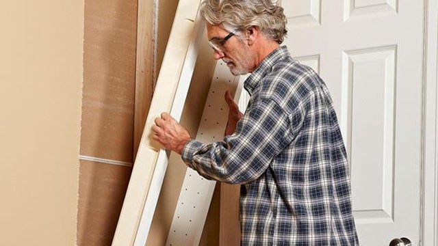Build Shelves Directly Into Your Walls for Extra Storage Space