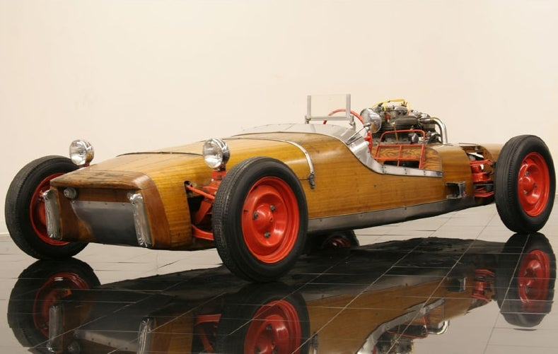 What's the coolest wooden car?