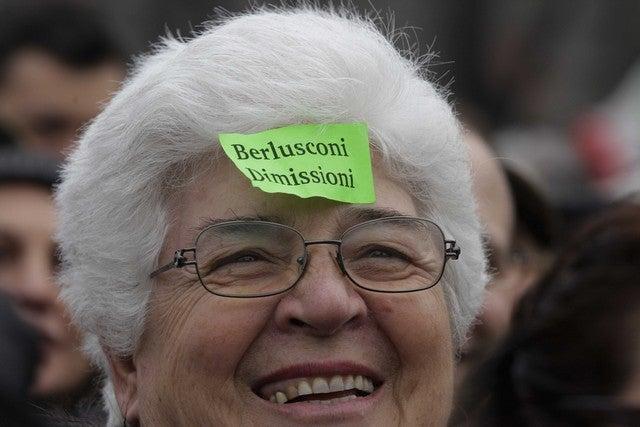 Italian Women Protest Silvio Burlusconi