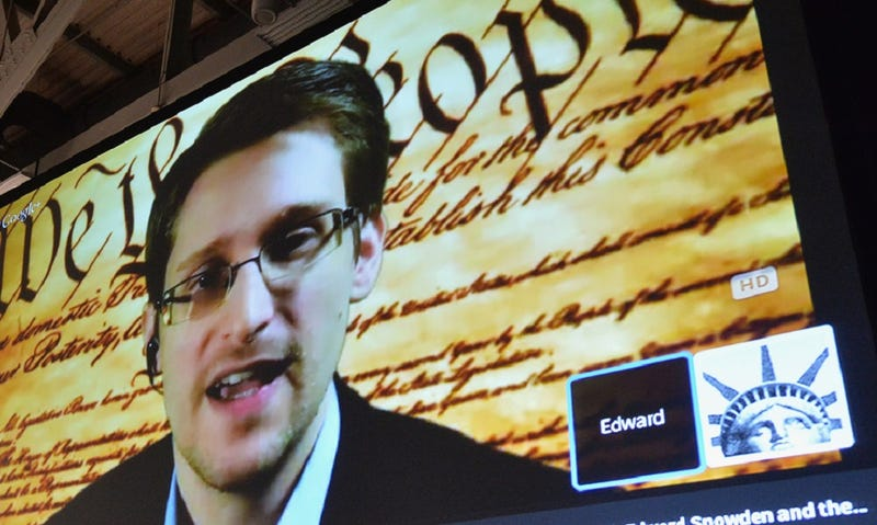 Let Us Calmly Discuss Edward Snowden: Your Wednesday Night TV Options
