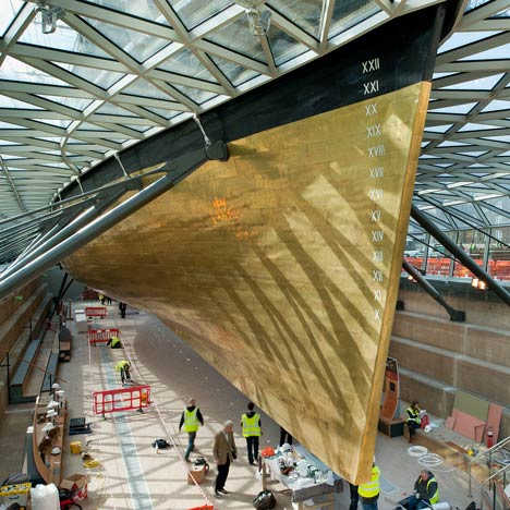 Simply Stunning—The World Famous Cutty Sark After Its £50 Million Renovation
