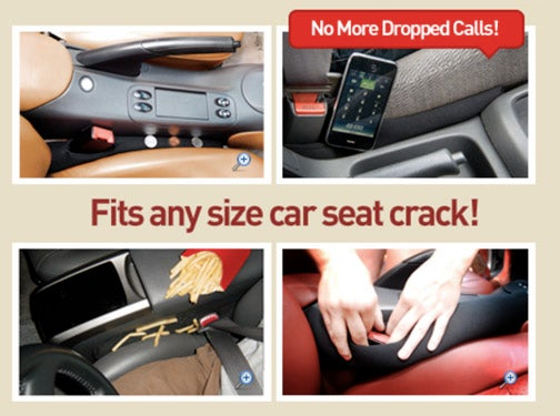 Fits Any Size Car Seat Crack!