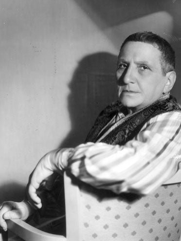 "Gertrude Stein: ""Unreadable, Self-Indulgent And Excruciatingly Boring."""