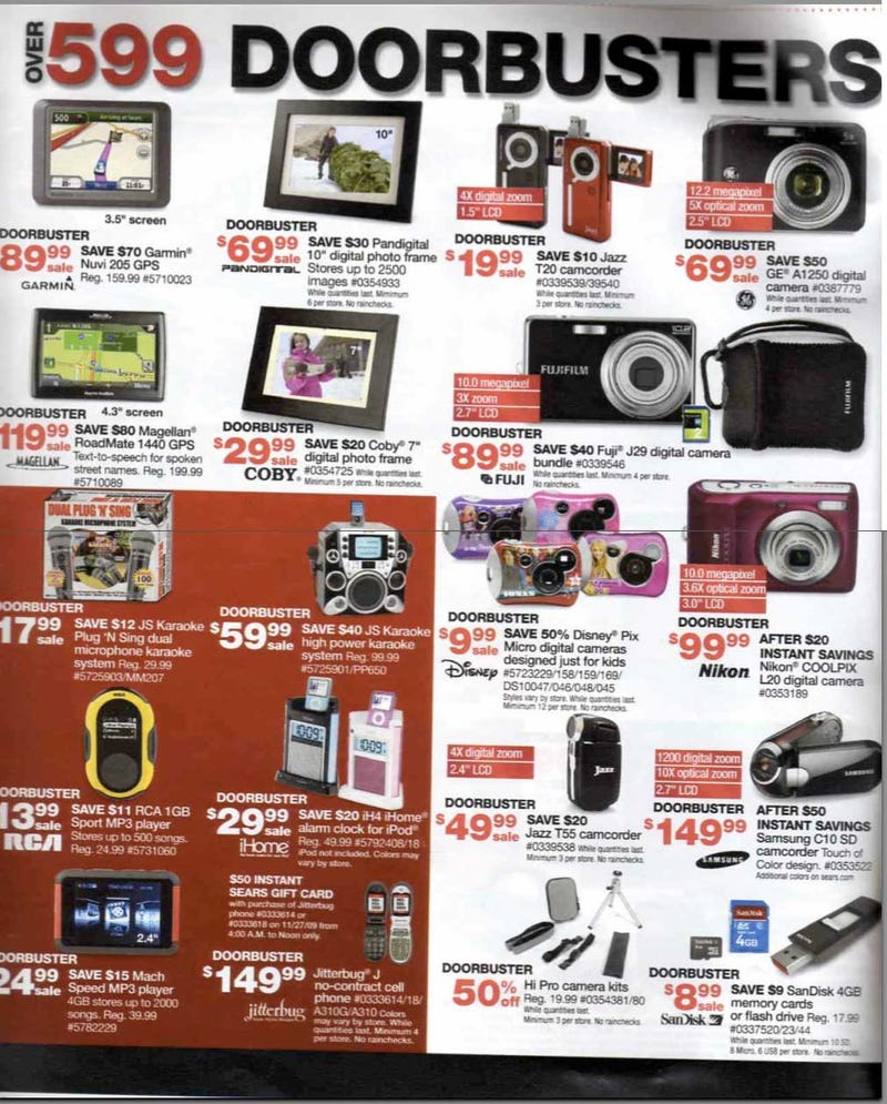 Sears Black Friday Ad Leaks: Boatloads of Cheap HDTVs