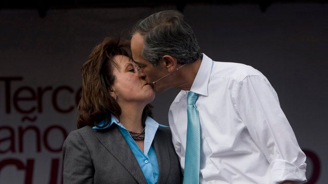 Guatemalan President Getting a Divorce So His Wife Can Run