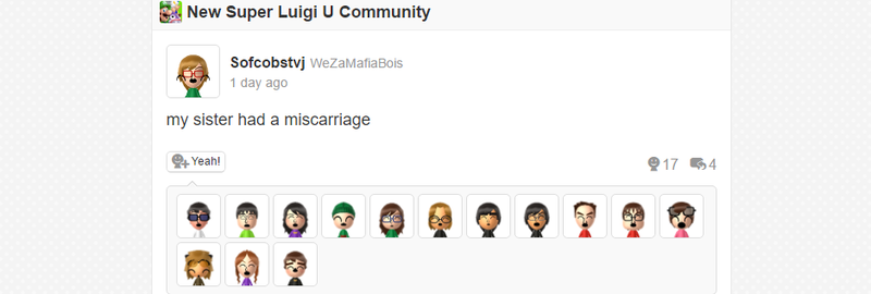 Luigi's Miiverse Has Become A Shitposter's Paradise In 2016